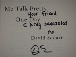 "David Sedaris: He had me at ""Haven't we met before?"""