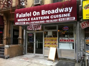 Falafel on Broadway: Life-changing hummus and hot sauce